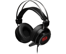 Redragon Siren 2 Black-Red Vibration Surround 7.1